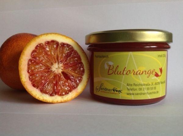 Blutorangen-Fruchtaufstrich
