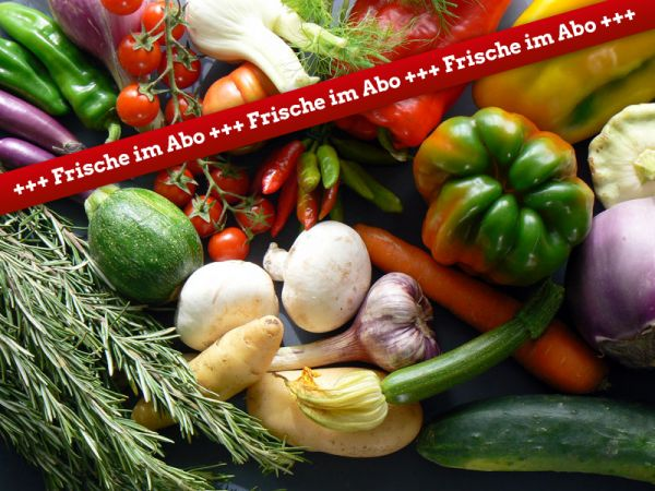 Gemüsekiste im Abo