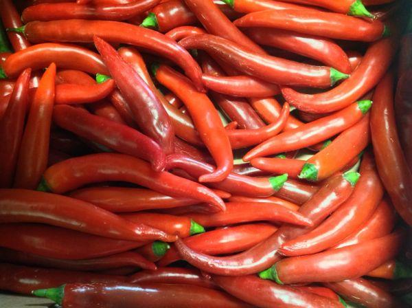 Peperoni rot/grün