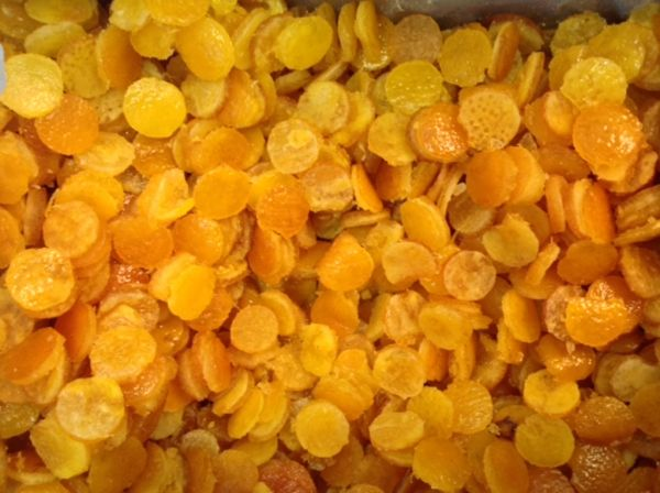 Orangenchips 300g (Packung)