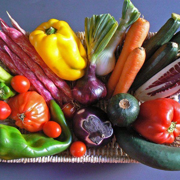 Gemüse-Präsentkorb