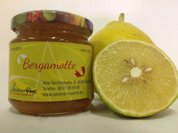 Bergamotte-Fruchtaufstrich